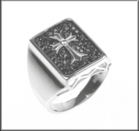Silberring 925/- GOTHIC